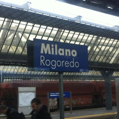 Photo taken at Stazione Milano Rogoredo by Ninah M. on 11/13/2012