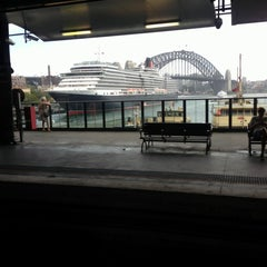 Photo taken at Circular Quay Ferry Terminal by Andrew G. on 2/23/2013
