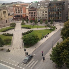 Photo taken at Best Western Karl Johan Hotell by Clara Andreea G. on 8/21/2014