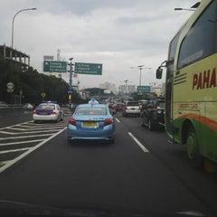 Photo taken at Jalan Tol Jakarta - Cikampek by Bambang G. on 3/7/2015