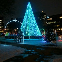 Photo taken at Cathedral Square Park by Shannan L. on 1/5/2013