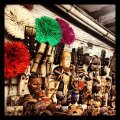 Photo taken at The Garage Antique Flea Market by Liz F. on 10/6/2012