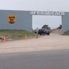 Photo taken at Arenabeach by Alejandro B. on 1/13/2013