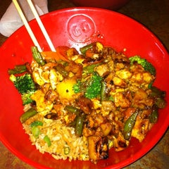 Photo taken at Genghis Grill by Chris B. on 2/2/2013
