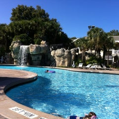 Photo taken at Sheraton Vistana Resort Villas, Lake Buena Vista/Orlando by Kristen F. on 11/13/2012