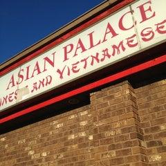 Photo taken at Asian Palace by Jesse R. on 10/12/2012