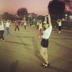 Photo taken at สวนลุมพินี (Lumphini Park) by Jacquline S. on 1/30/2013