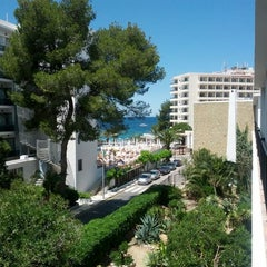 Photo taken at Hotel Osiris Ibiza by Alex K. on 5/16/2013