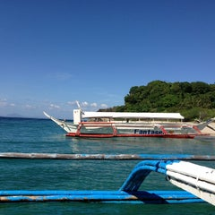 Photo taken at Boat ride to Batangas by Ramon Y. on 4/1/2013