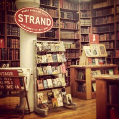 Photo taken at Strand Bookstore by Frank on 12/27/2012