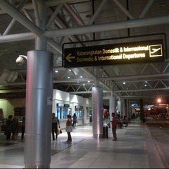 Photo taken at Sultan Mahmud Badaruddin II International Airport (PLM) by Amyof B. on 5/4/2013