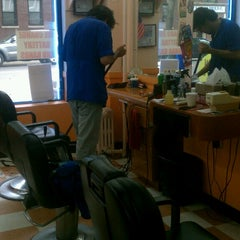 Photo taken at Astoria Barbers by Scott B. on 5/22/2013