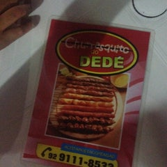 Photo taken at Churrasquinho do Dedé by 💞Angela D. on 5/21/2014
