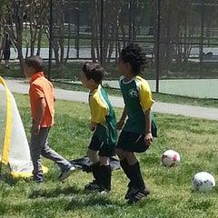 Photo taken at Stoddert Soccer @ Carter Baron Fields by Aisha A. on 5/4/2013