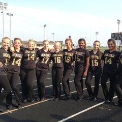 Photo taken at Avon High School Oriole Stadium by Carissa N. on 9/9/2013