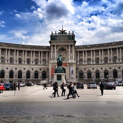 Photo taken at Österreichische Nationalbibliothek - Austrian National Library by Andrew Z. on 5/28/2013