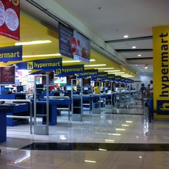 Photo taken at hypermart by Z. I. on 2/16/2013