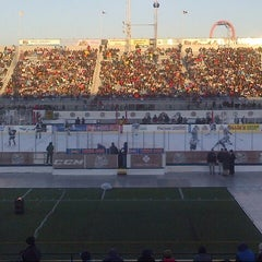 Photo taken at Hersheypark Stadium by Runnin' Donna on 1/20/2013