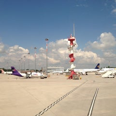 Photo taken at Aeroporto di Venezia Marco Polo (VCE) by Evgeniya on 5/8/2013