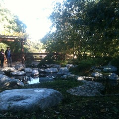 Photo taken at Japanese Friendship Garden by Evgeniya on 11/11/2012