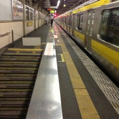 Photo taken at JR 浅草橋駅 西口 by orange m. on 5/16/2013
