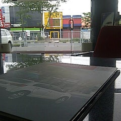 Photo taken at PT. Sardana Indah Berlian Motor by Cervin Q. on 8/18/2013