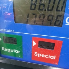 Photo taken at Mobil by Jeff S. on 10/16/2012