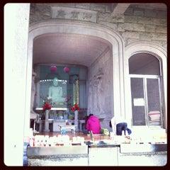 Photo taken at 보문사 (普門寺) by Ji Ho P. on 9/30/2012