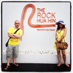 Photo taken at The Rock Hua Hin Boutique Beach Resort and Spa by Natthanit R. on 12/5/2014