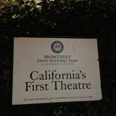 Photo taken at California's First Theater by MiniME on 12/8/2012