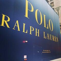 Photo taken at Ralph Lauren by Devonta on 7/9/2014