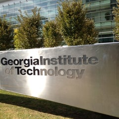 Photo taken at Georgia Institute of Technology by Sara Beth M. on 10/15/2012