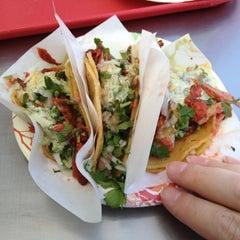 Photo taken at Tacos El Gordo by Tonya O. on 4/12/2013