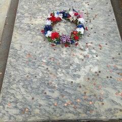 Photo taken at Benjamin Franklin's Grave by Andrew P. on 7/4/2013