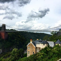 Photo taken at Avon Gorge Hotel by Romain S. on 9/13/2015