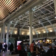 Photo taken at Gare SNCF de Paris Lyon by Romain S. on 12/23/2012