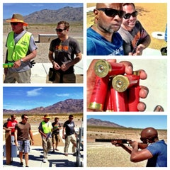Photo taken at Clark County Shooting Park by Prentiss E. on 5/4/2013