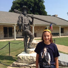 Photo taken at Texas Ranger Hall of Fame and Museum by cristina c. on 7/23/2014