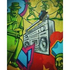 Photo taken at Graffiti Hall Of Fame by Richard Alexander C. on 5/4/2015