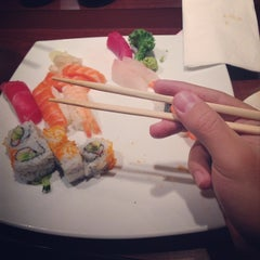 Photo taken at Sushi Rock by Cristiano G. on 10/12/2013