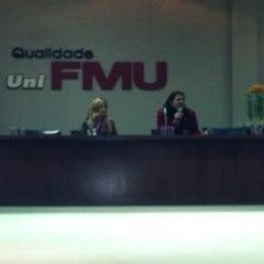 Photo taken at FMU - Campus Santo Amaro by Larissa C. on 9/29/2012