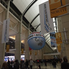 Photo taken at Chicago Auto Show by Monique W. on 2/22/2015