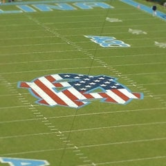 Photo taken at Kenan Memorial Stadium by Davis B. on 9/29/2012