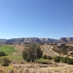 Photo taken at Redlands Mesa Golf Course by Aaron G. on 10/6/2012