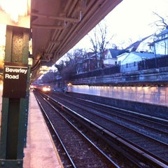 Photo taken at MTA Subway - Beverley Rd (Q) by Paul C. on 3/21/2014