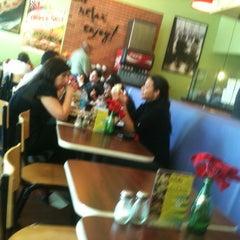 Photo taken at Camilles Sidewalk Cafe by Noel D. on 12/27/2012