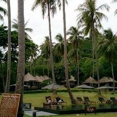 Photo taken at Haad Tien Beach Resort by Deenaa (. on 4/15/2013