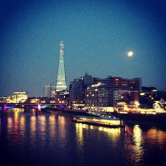 Photo taken at The Shard by Fabio I. on 7/21/2013
