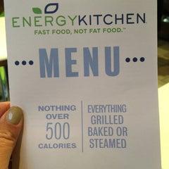 Photo taken at Energy Kitchen by kim g. on 3/1/2013