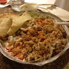Photo taken at The Halal Guys by Tarboh on 11/2/2012